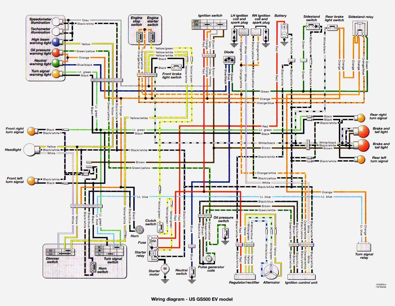 Haynes_WiringDiagram_US_97 wiring diagram of 2003 ford expedition the wiring diagram 2001 ford expedition wiring diagram at bayanpartner.co